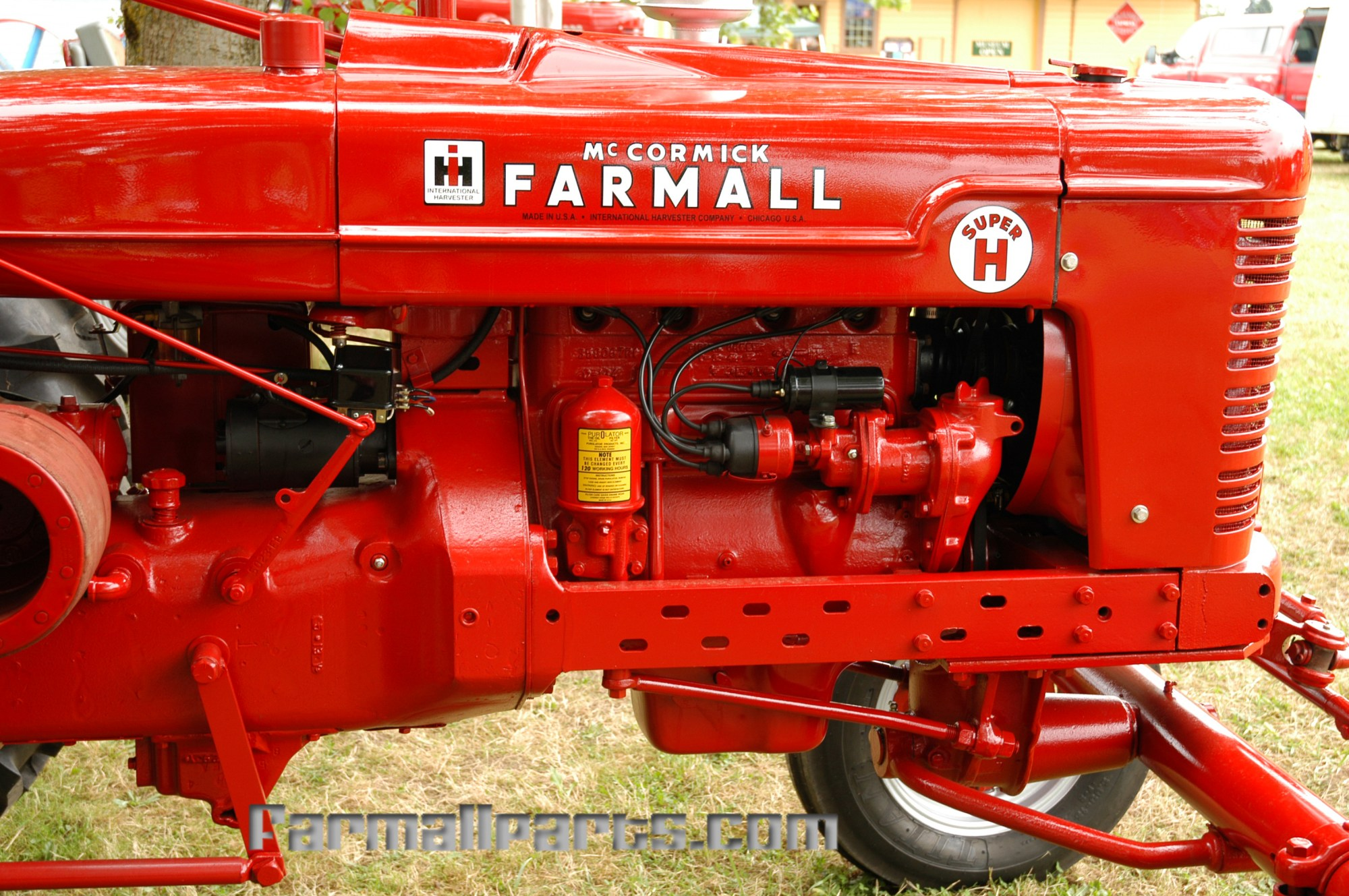 hight resolution of mccormick farmall super h with battery ignition