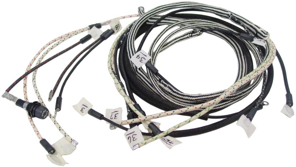 medium resolution of 140harness 237878 farmall b bn wiring harness wiring harnesses farmall parts farmall 656 wiring harness at