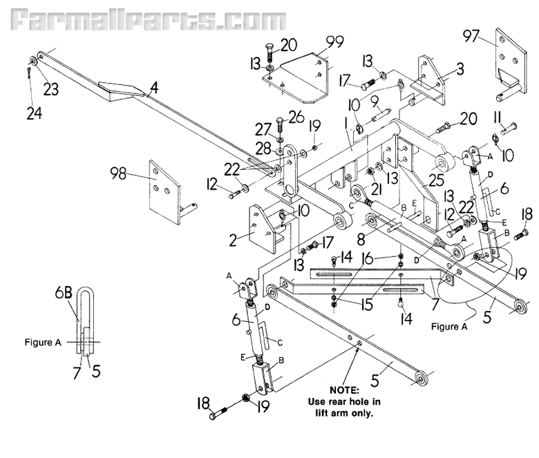 International 574 Tractor Parts Diagram, International
