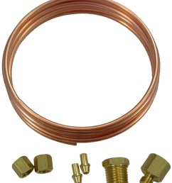 oil pressure gauge copper line kit [ 1200 x 1389 Pixel ]
