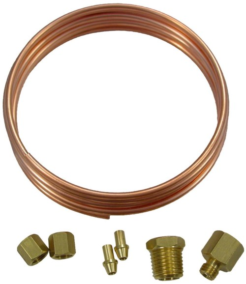 small resolution of oil pressure gauge copper line kit