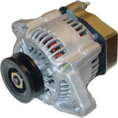 Ford Alternator Diode Testing Hospital Database Design Diagram Mini 42 Amp 12 Volt Neg Ground Farmall Parts