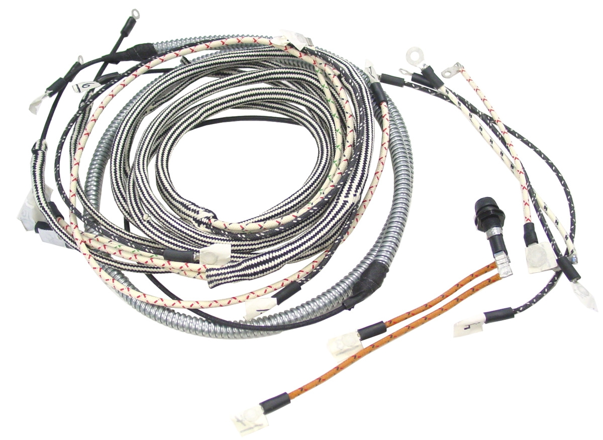 hight resolution of farmall h hv wiring harness