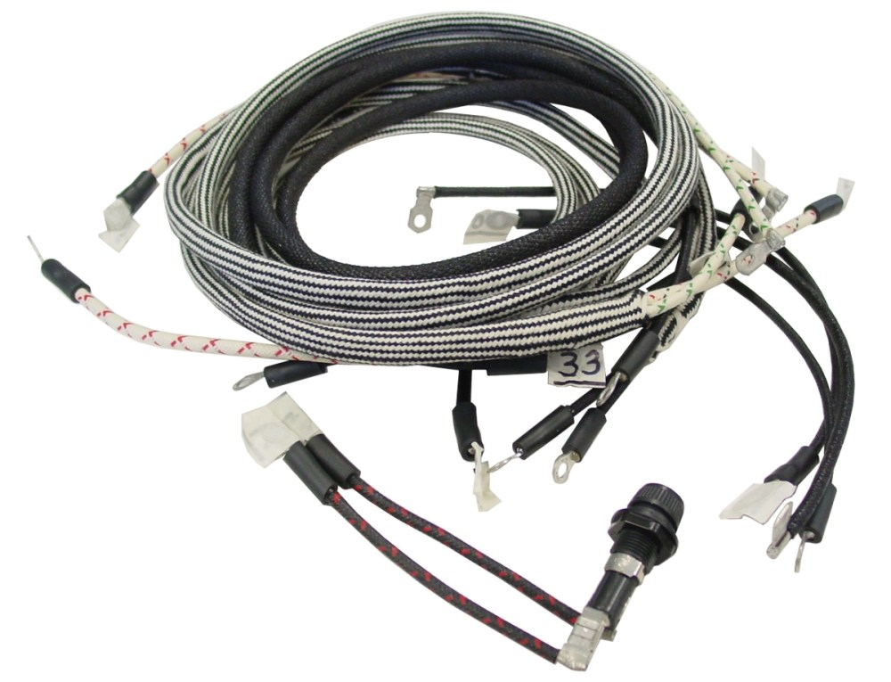 medium resolution of farmall c wiring harness with cutout