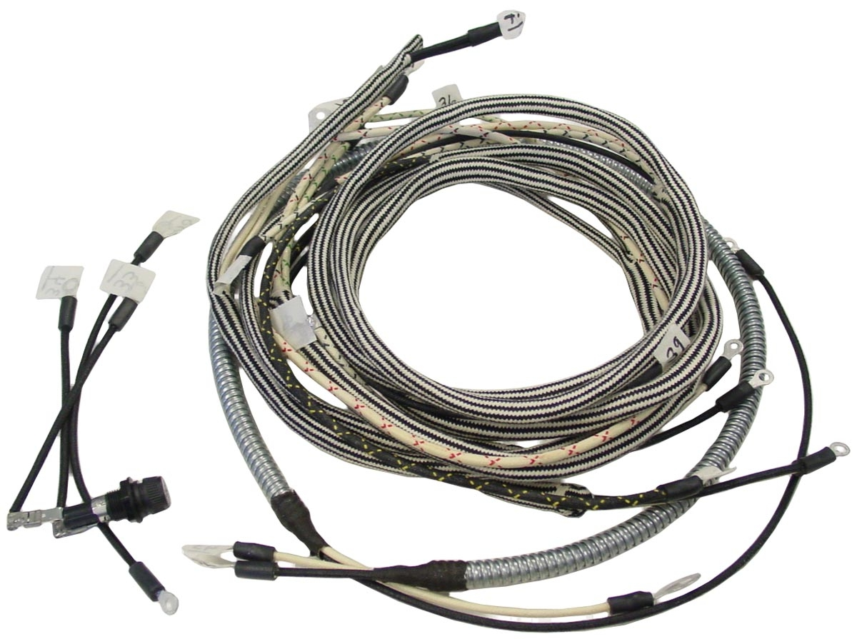 hight resolution of wiring harness farmall super m serial f28175 and up 504802 and up