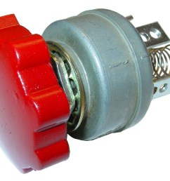light switch 12 volt rotary 3 position farmall cub a av  [ 1200 x 873 Pixel ]