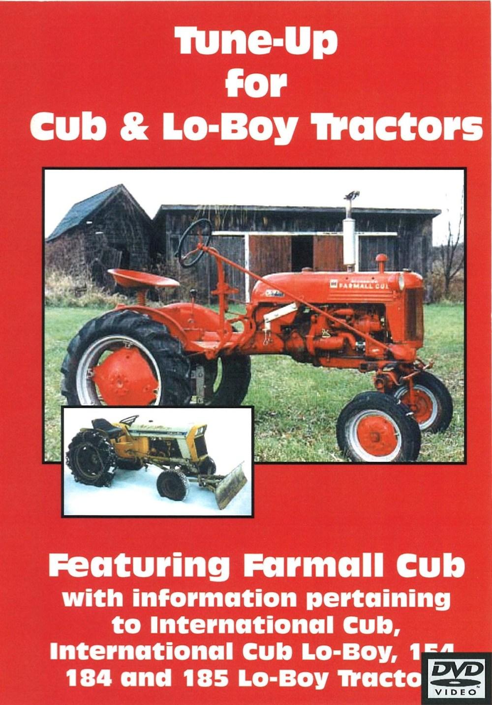 medium resolution of cub cub lo boy tune up video dvd farmall cub