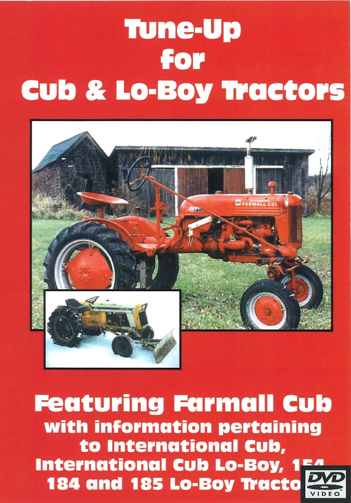 hight resolution of cub cub lo boy tune up video dvd farmall cub