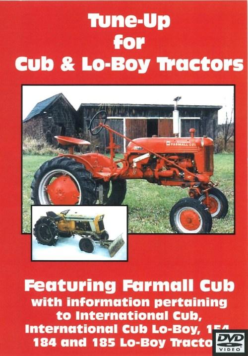 small resolution of cub cub lo boy tune up video dvd farmall cub