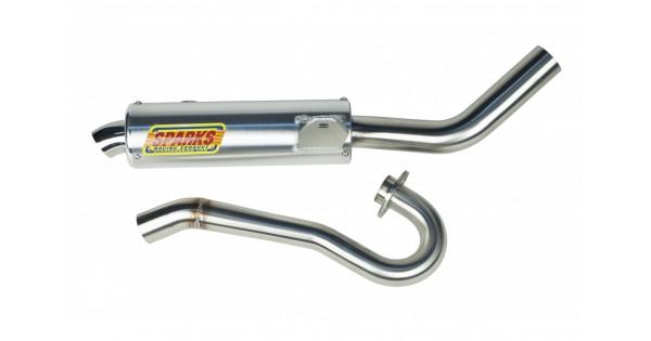Sparks Racing X-6 Exhaust System (Race Core) Suzuki 2006