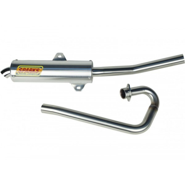 Sparks Racing X-6 Exhaust System (Big Core) Yamaha 2001