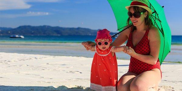 FDA Tidak Merekomendasikan Penggunaan Krim Tabir Surya Untuk Bayi