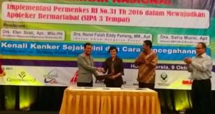 PD IAI Lampung Bersinergi dengan BBPOM Wujudkan Apoteker yang Bertanggung Jawab