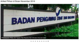Editorial : Majalah Farmasetika – Vol.1 – No.9 – November 2016 Telah Terbit