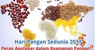 Posisi dan Peran Apoteker dalam Keamanan Pangan
