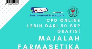 CPD Online Majalah Farmasetika Berikan Lebih dari 50 SKP Apoteker Gratis