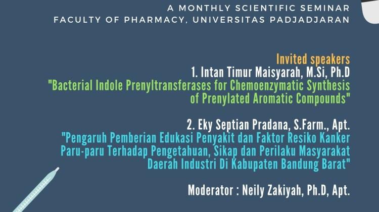PharmaUP Magazine – Sept 2019 : Intan Timur Maisyarah dan Eky Septian Pradana