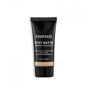 farmasi stay matte foundation 30 ml 09 - Farmasi Stay Matte Foundatıon 30 Ml- 09