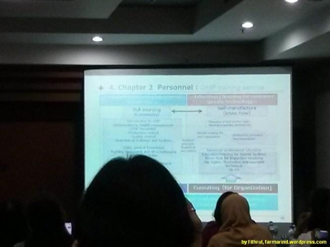 Mengikuti Seminar PIC/S GMP Guide - Seri Perdana 21 April 2016