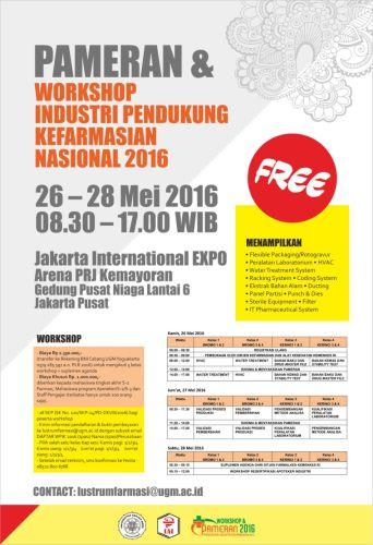 Pameran & Workshop Industri Pendukung Kefarmasian Nasional 2016 (bagian 1)