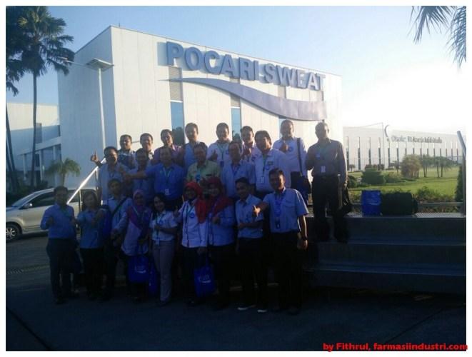 Kunjungan ke Pabrik PT Amerta Indah Otsuka Pasuruan
