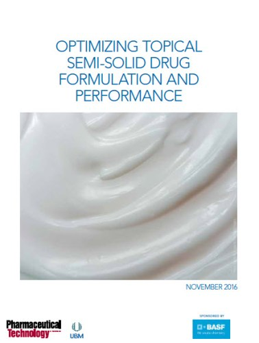 Download Ebook:Optimizing Topical Semi-Solid Drug Formulation and Performance