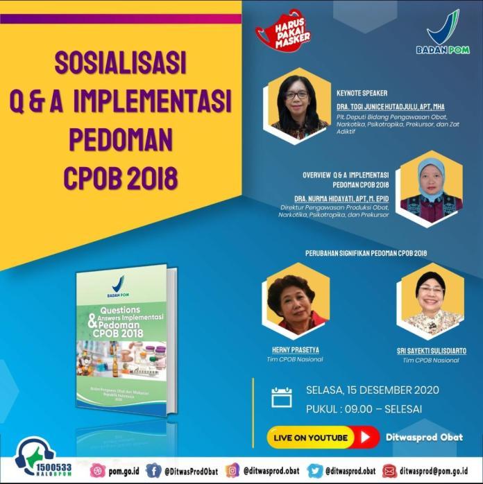 Sosialisasi QnQ CPOB 2018