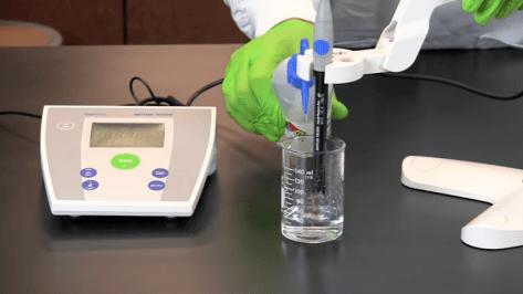 cara pembersihan probe pH