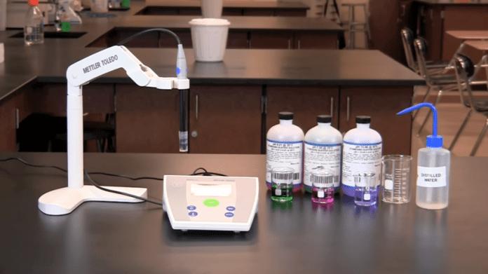 cara penggunaan pH meter