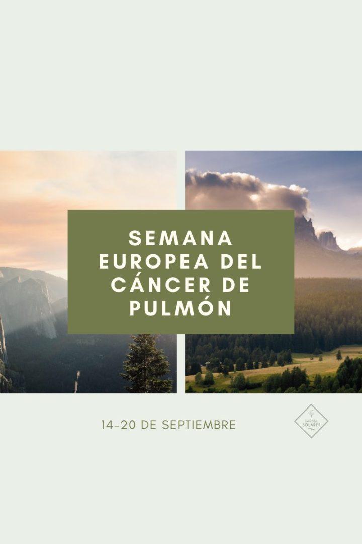 Semana Europea del Cáncer de Pulmón