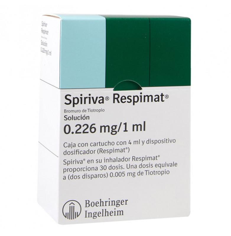 Spiriva Respimat 25 microgramos solución para inhalación