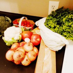 Food from farmers' market