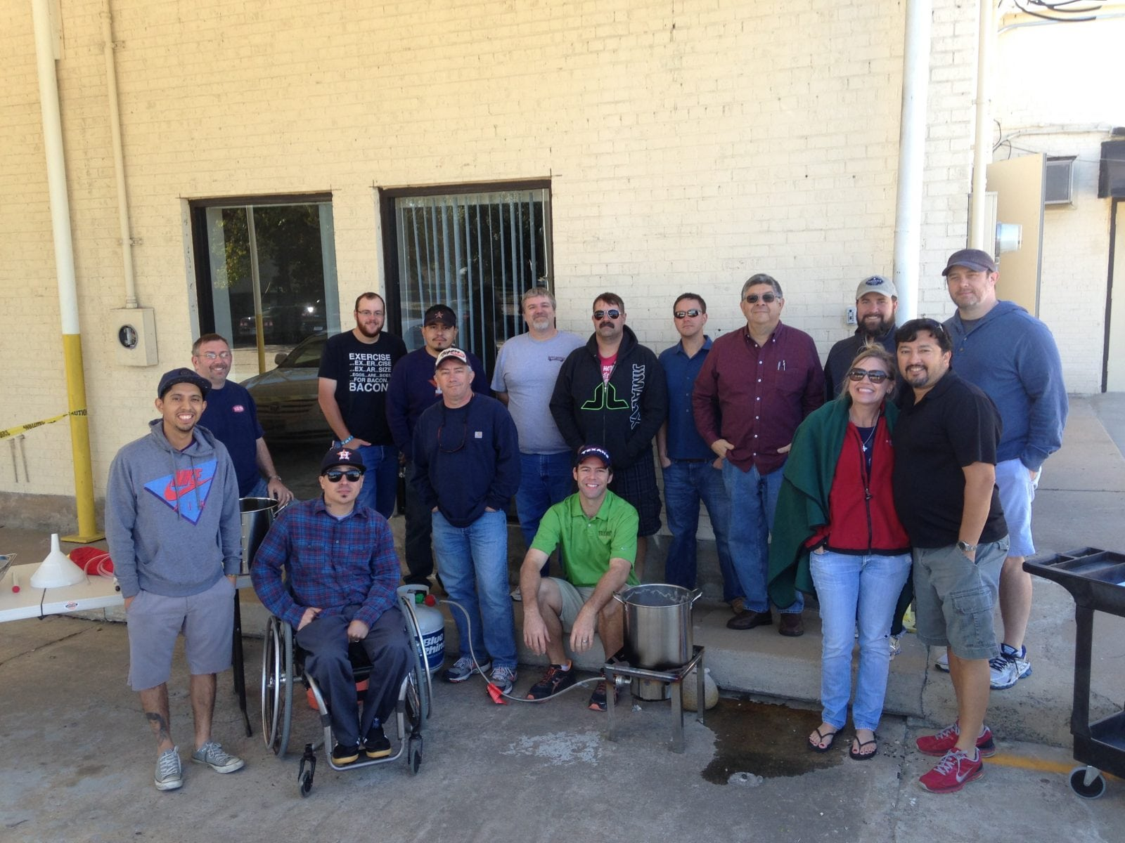 New Brewer's Class for National Homebrew Day