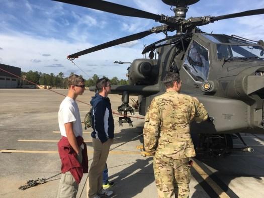 Walk around of the Apache