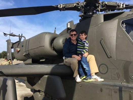 Dan and Leo on the Apache