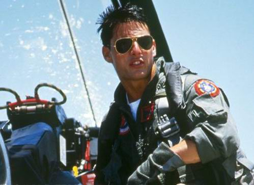 Tom Cruise as Maverick from Top Gun