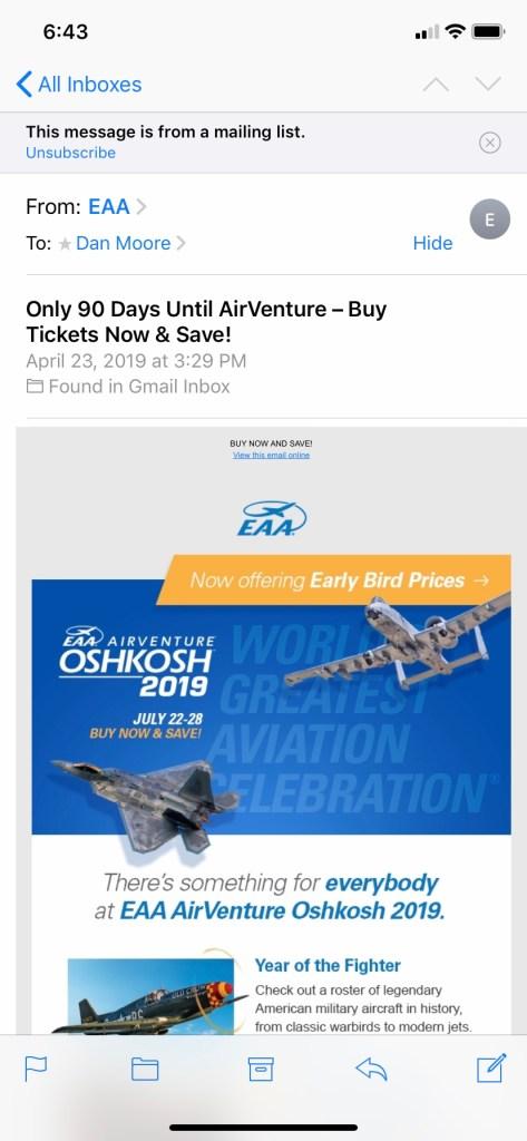 90 days to go till Oshkosh