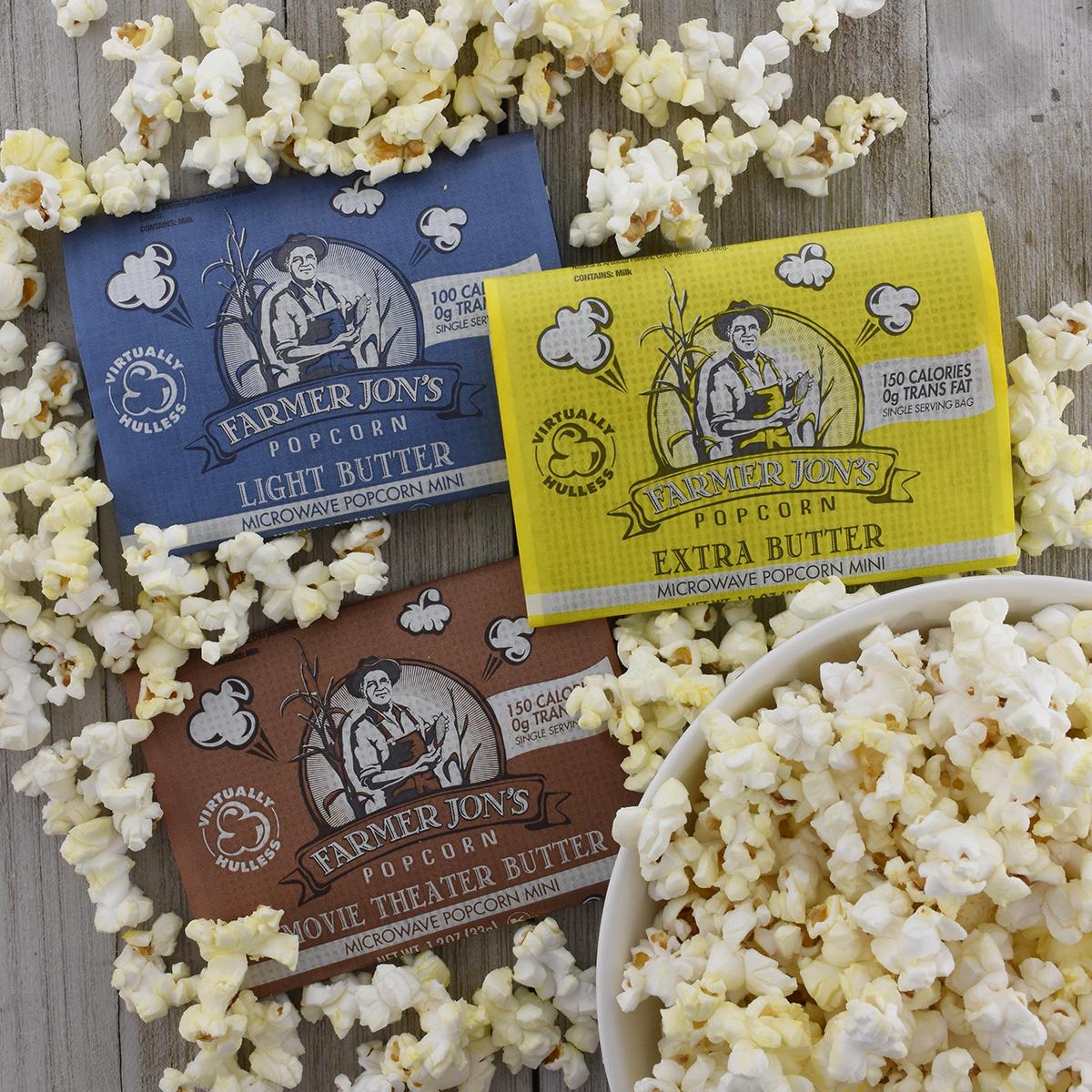 mini microwave popcorn 3 flavor combo 18pk