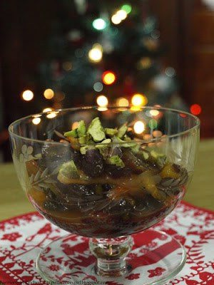 Delia's Christmas Dried Fruit Compote