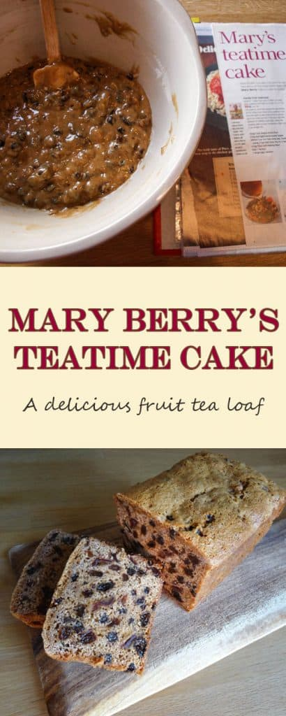 Mary's Tea Time Cake for Recipe Clippings | Farmersgirl ...