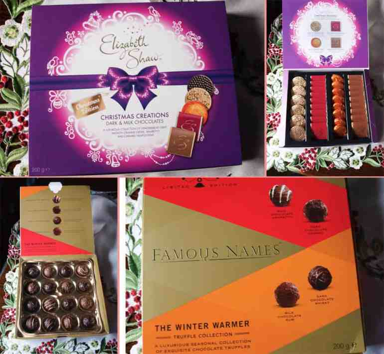 Famous Names and Elizabeth Shaw Chocolates