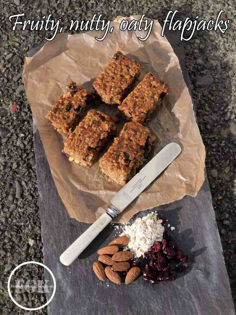 Fruity, Nutty, Oaty Flapjacks