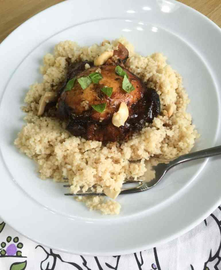 Slow Cooker Tamarind and Orange Chicken and the Slow Cooked Challenge