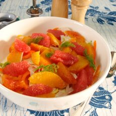 Fennel and Orange Salad - the perfect winter salad