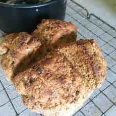 Wholemeal Irish Soda Bread for St Patrick's Day