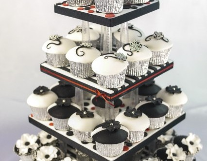 Paul Bradford Sugarcraft School Cupcake Tower