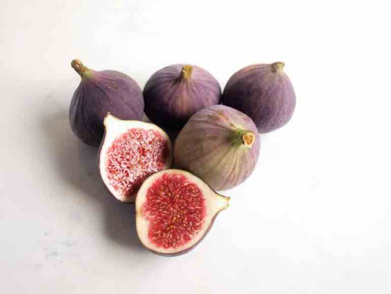 Fresh Figs ready to be made into Fig and Lime Jam