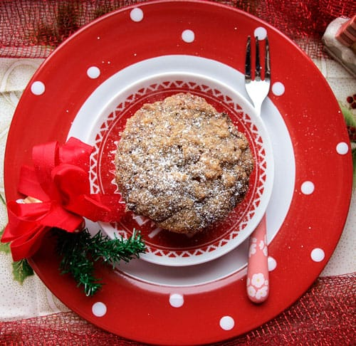 Easy Festive Apple and Mincemeat Streusel Muffins you'll love