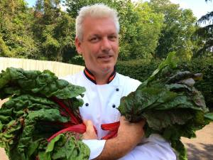 Dining - Princeton School Gardens Cooperative - Chef Rob - Chard