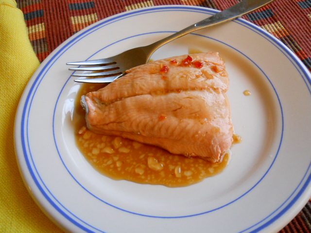 Red Pepper Sauce for Salmon  (5/5)